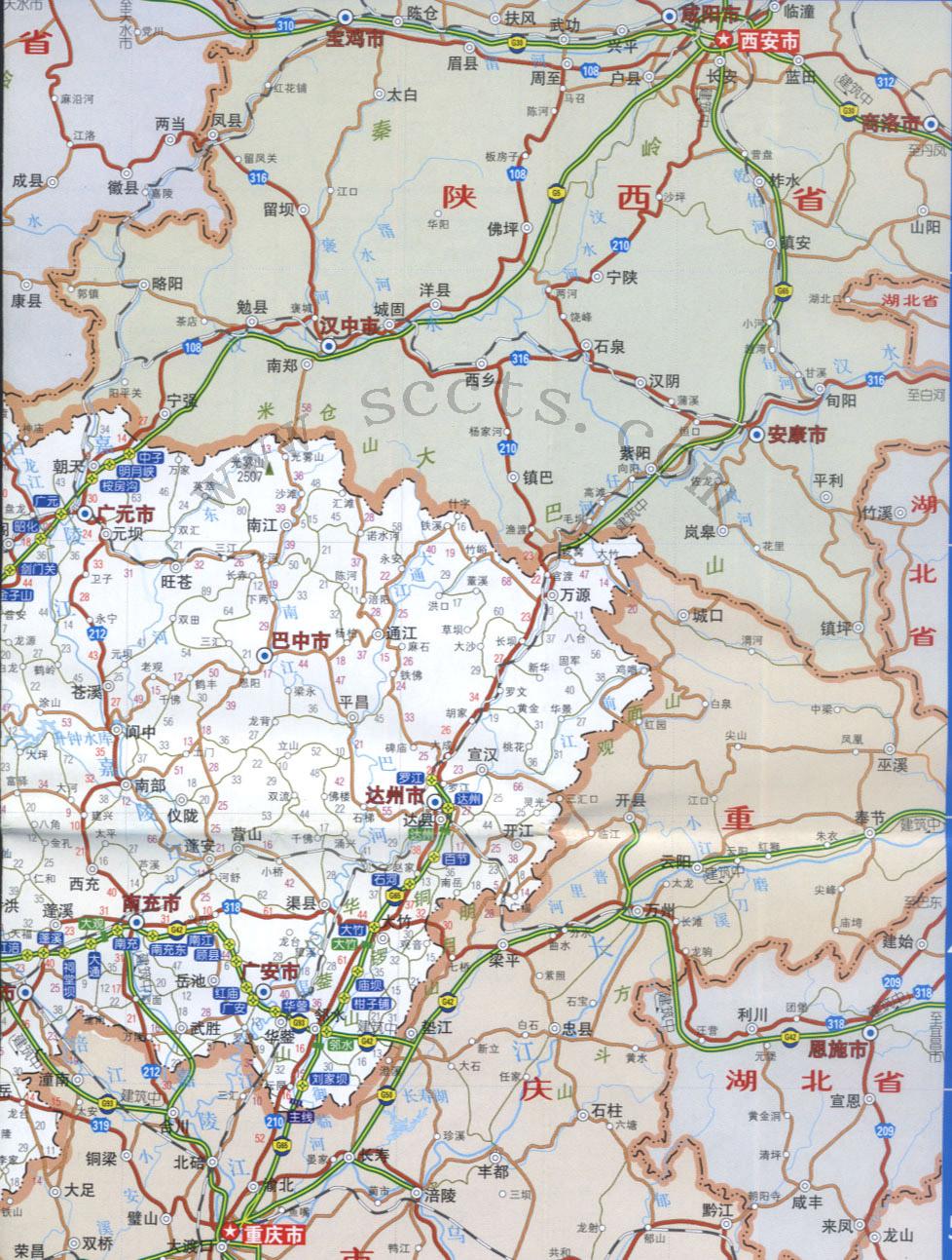 长征路线手绘图中国地图