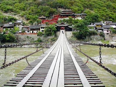 泸定桥_泸定旅游景点-四川泸定旅游