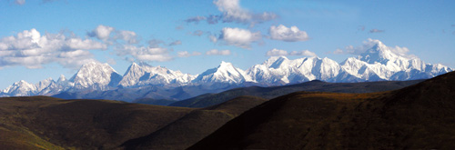 风景名胜区,位于甘孜藏族自治州泸定